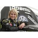 Tuff RallyX-debut för Ramona Karlsson