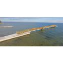 Pressinbjudan: Invigning av bryggan på Vita sand