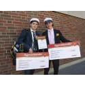 Två elever vid Rekarnegymnasiet belönade med Bygmastipendiet