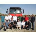 STV genomför utbildning av bandvagnsförare och utbildare i Georgien