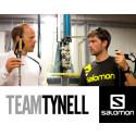 Team Tynell litar på Salomon från topp till tå.