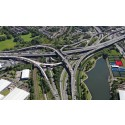 Work continues on Spaghetti Junction