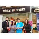 Edmonton teenage cancer survivor officially reopens Wood Green optician