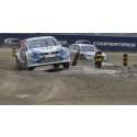 Kristoffersson vann VM-premiären i rallycross för Volkswagen Team Sweden