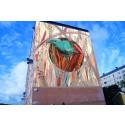 Vinnande brasilianskt konstverk blir muralmålning av arbetslösa ungdomar i Hjällbo