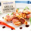 Grilla grekiskt, matbloggarnas bästa grilltips - ny receptbroschyr från Fontana Food