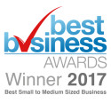 The Finegreen Group named winner of the Best Small to Medium Size Business Category at the 2017 Best Business Awards!