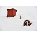 Snöskottning orsakar takskador för miljonbelopp varje vinter