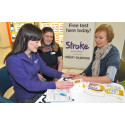 Over half referred to a GP after having free blood pressure check at free clinic in Darlington