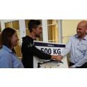 Eisel må rydde plass i fryseren til 500 kilo laks