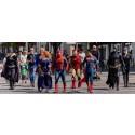 Superhjältar mot cancer deltar i nationaldagsfirandet i Kungälv