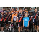 Gloucester eye cancer survivor, aged 10, cheers on cycling quest riders as they journey through Monmouth