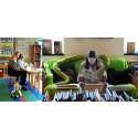 Dyslexivecka för barn med extra lässtöd på biblioteket