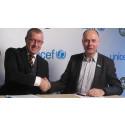 Brynäs IF och UNICEF i unikt samarbete