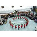 Stadtsparkasse München feiert Fasching mit Schäffler und Narrhalla