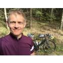 Professor cyklar för klimatet
