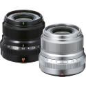 FUJINON XF23mm F2 black and silver