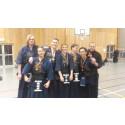 Medaljregn över IKSU kendo