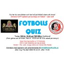 FotbollsQuiz 19 sep kl. 19.00 på The Bell!