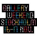 PREMIÄR FÖR GALLERY WEEKEND STOCKHOLM, 16 - 17 NOVEMBER, 2019