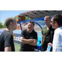 Svenska fotbollstränare i TV-produktion med Zinedine Zidane!