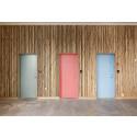 ARKITEKTUR: Døren bliver medfortæller i Banedanmarks kunstværk