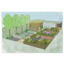 'Health for Life in the community' show garden wins best show garden at BBC Gardeners World in Birmingham