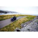 Upplev norra Europas vackraste vägar på motorcykel