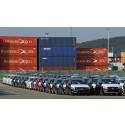 Göteborgs Hamn ny exporthamn för Volvobilar till Ryssland och Kina