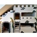 Gör en egen våningssäng som ser ut som en borg