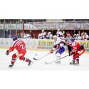 Blåkläder og ishockeylandslaget møtes på isen