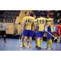 Sveriges U19-herrlandslag inledde Euro Floorball Tour med seger mot Tjeckien med 12-6.