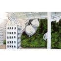 Street art och trädgårdsdesign möts på Sofiero