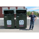 Nya behållare ska ge ökad återanvändning av textilier i Karlskoga