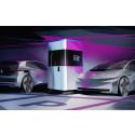 Spänningsfylld världspremiär: Volkswagen visar mobil laddningsstation för elbilar