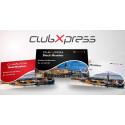 Bild kortdesign för medlemskort i club Xpress - lojalitetsprogram för MTR Express