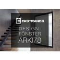Ekstrands lanserar nytt designfönster - Arki78