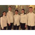 Nobelfestens gäster serveras för första gången av elever från Sundsvalls gymnasium