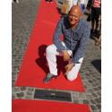 Christian von Koenigsegg under invigningen av Ängelholms Walk of Fame