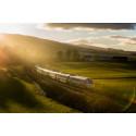 Virgin Azuma train debuts in Highlands