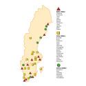 SFS bostadsrapport 2016 - 11 städer på röda listan