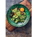 Grön salladsbowl
