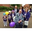 Survivors take a Step Out for Stroke in Chester