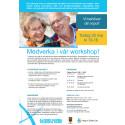 Workshop för att utforma testbädden för äldre och funktionsnedsatta, inom området för Hälsa, vård och omsorg.