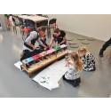 Miniarkitekter bygger sin drömförskola