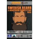 Swedish Beard & Moustache Competition 2016 avgörs nästa helg!