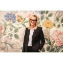 Charlotta Levin är ny Sverigechef för tapetkoncernen WallVision