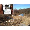 App förenklar rapportering av nedskräpning