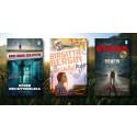 Tre nya pocketböcker från Bokfabriken