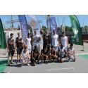 Ministrar spelar basket med nyanlända flyktingar